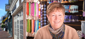 Marcy Harris, New Proprietor of Stitch Middleburg Oct 2015